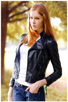 2014 New Women Leather Jacket Autumn Slim Waterproof Leather Jacket Motorcycle PU Leather Jacket Zipper Outerwear Coat