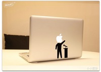 Free shipping spoken man stickers Decal Sticker for Apple Macbook Pro / Air 13 inch Mario Bros Cartoon Skin Sticker