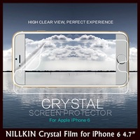 "NILLKIN Crystal HD High Definition Super Clear Antifingerprint Screen Protector for Apple iPhone 6 4.7"" + Retail + Free Shipping"