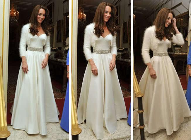 Online Kaufen Großhandel kate middleton dress wedding aus China kate ...