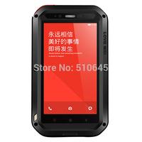 Free Shipping LOVE MEI AL01 Aviation Aluminum Alloy Waterproof  Case for XiaoMi Redmi Note Hot Sale