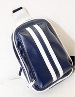 2014 Hot new Fashion Sport Korean casual small striped PU chest packet women shoulder bag men Messenger bags SJ-29