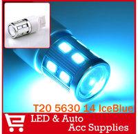 2x 7440 7443 W21W T20 14SMD 5630 NEXON WHITE / CRYSTAL BLUE LED LIGHT BULBS BRAKE SIGNAL LAMP