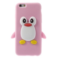 2014 New For iPhone 6 Silicone Case , Cute Penguin Soft Back Silicone Case for iPhone 6 4.7 inch