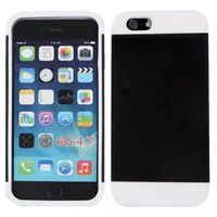 """Special Offer New  Solid Corselet Plastic Case cover with window for iphone 6(5.5"""")"""