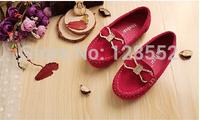 Child  single shoes 2014 autumn fashionable casual Moccasins scrub shoes brand children shoes