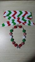2014 new style hot sale X-mas necklace and hendband sets