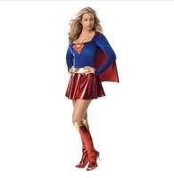 Deluxe Women's Sexy Supergirl Costume Halloween costumes Cosplay