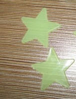 Free shipping 100set /lot(100pcs/set) Home Wall Glow In The Dark Star Stickers Decal Baby Kids Gift Nursery Room