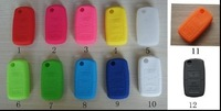 2014 Hot Sale VW Silicone Remote Key Fob Cover Holder Car Key Protective Case for VW Golf Bora Jetta POLO Passat