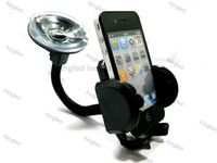 50pcs/Lot   Mobile Smart Cell Phone GPS 360 Degree Rotation Car  Mount Cradle Holder Stand Universal
