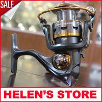 Free shipping 11 Ball Bearings 2000 series carp fishing reel metal spool spinning reel sale for feeder fishing  2014 new