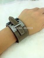100%  authentic wholesale new fashion bracelet  jewelry   leather design bangle