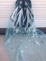 Romance snow Huang Houaiersuo original big Cosplay Cloak fabric yarn