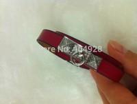 small new style  luxury 100%  authentic wholesale new fashion bracelet  jewelry   leather design bangle