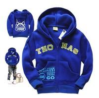 Autumn Boy Hoodies & Sweatshirts 2014 New Children Hoody Sweatshirts for Boys Blue Color Brand Boys Coat Retail Wholesale