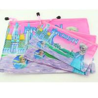 Frozen New file pocket PVC Students' documents pouch storage bag Pencil bag pouch Gift