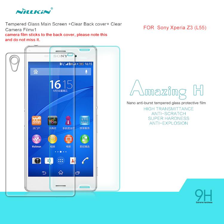 Защитная пленка для мобильных телефонов Sony Xperia Z3 NILLKIN H Sony Xperia Z3 защитная пленка для мобильных телефонов sony xperia z3 z3