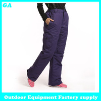 Dropshipping 2014 new arrival Russian -20-30 degree Thicken Warm Pants Trousers Casual waterproof windproof winter women pants