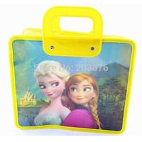 2014 FROZEN PP Children's Hangbags Bags School bag TOTE bags Gift Kids Accessories 28CM