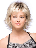Hot Short Wavy Women Cos Party Fashion Hair Wig synthetic hair cosplay wig