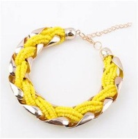 Fashion bohemia bracelet beads knitted bracelet fashion accessories