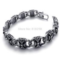 Fashion classic men's titanium steel bracelet titanium steel bracelet exquisite pattern influxof goods sent her boyfriend a gift