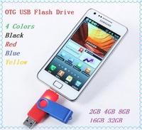 Smart phone OTG USB Flash Drive 2GB 4GB 8GB 16GB 32GB Micro USB Flash Drive Pen Drive Smart Phone Flash Card for Android Phone