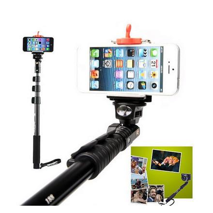 yunteng 188 extendable self portrait selfie stick monopod tripod for iphone 6 plus 5s 4s xiaomi. Black Bedroom Furniture Sets. Home Design Ideas