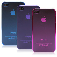0.5mm slim mobile phone shell protective frosted cover case for iPhone 4/4S