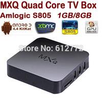HD18Q Original MXQ Andriod TV BOX Amlogic S805 Quad Core Android 4.4 Kitkat 8GB Mali 450 GPU WIFI Airplay Miracast XBMC TV Box