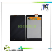 Free Shipping LCD touch screen digitizer assembly for ASUS Google Nexus 7 ME571K ME571KL K008 K009 2nd ii Gen 2013 tablet pc