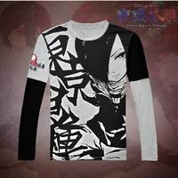 New Tokyo ghouls Kirishima Touka Anime cotton Long sleeve Open to booking a product  Free Shipping