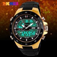 SKmei Brand Men Sports Watches Waterproof Quartz LED Digital Watch Military Jelly Dress Wristwatches 8 Colors