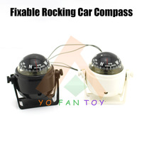 Fixable And Rocking Lensatic Compass Vehicle-borne Type Car Compass Outdoor Driving Camping Survival Tool North Compass