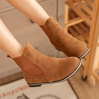 hot sell Brand designer women cheap fashion leather Boots winter shoes free shipping