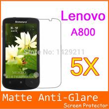 5pcs/lot Mobile Phone Lenovo a800 Screen Protector.Free Shipping Matte matt Screen Protector LCD Film Cover For Lenovo a800
