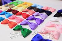 10pcs/lot 7cm Hair bows baby boutique bows 48 colors