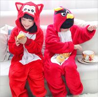 2014 Anime Animal Children's Cosplay Pajamas Cartoon Blue Unicorn Kids Onesie Flannel Jumpsuit Halloween Cosplay Costumes