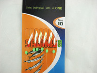 Fishing  Lure Rigs With Swivel Snap Fishing Sabiki Bait  Lures tuna Hooks 10#