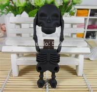 2014 new hallowmas memory stick skull usb flash drive cartoon pen drive real capacity 2gb 4gb 8gb 16gb pendrive free shipping
