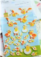 Free shipping ! Kwaii cute duck series decoration diary stickers,Kawaii sticker,stationery wholesale(tt-1328)