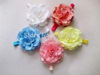 Baby Flower Headband Peony Infant Toddler Headband