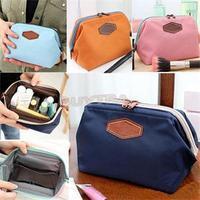 2014 New Multifunction Travel Cosmetic Bag Makeup Case Zipper Clean Mini Women Bags