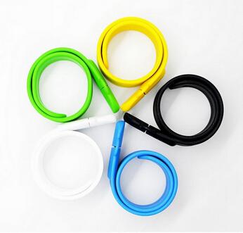 2014 New Silicone Bracelet Wrist Band 16GB 8GB 4GB USB 2.0 USB Flash Drive Pen Drive Stick U Disk Pendrives(China (Mainland))