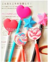 Free shipping, Kawaii korean lollipop design gel pen, 0.538mm Gift cute pens, Wholesale,good quality (tt-1326)