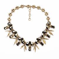 fashion women jewelry accessories metal alloy statement choker necklace