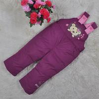 6 colors 2014 Autumn Winter Child Jumpsuit Infant Cotton down Bib Pants Trousers Baby Girls Boy Romper Children Jumpsuit