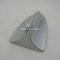 Free Shipping Shark Fin Style Car Adornment Antenna Silver