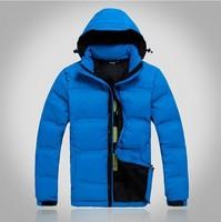 2014 Winter Jacket men brand duck down 900 hooded ski  sport jacket coat  Parkas Detachable thermal outdoor coat parkas men